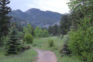 The path to Bridal Veil Falls