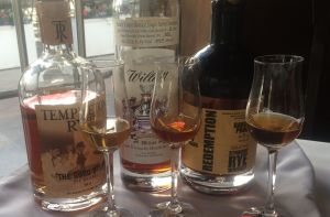 Whiskey Flight at the Historic Stanley Hotel